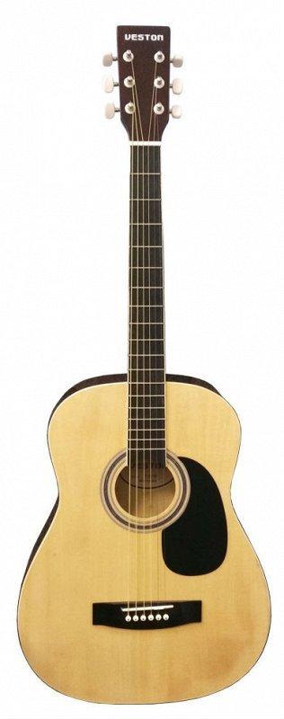 VESTON F-38/NT - акустическая гитара 38`, цвет: натуральный