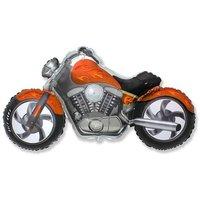 Шар «Мотоцикл», оранжевый, 115 см
