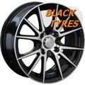 Диск колесный LS Wheels 143 6.5x15/4x114.3 D73.1 ET40 BKF - фото 1