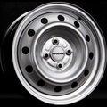 Колесные диски Trebl 53A43C 5.5x14 PCD 4x100 ET 43 ЦО 60.1 цвет: Silver - фото 1