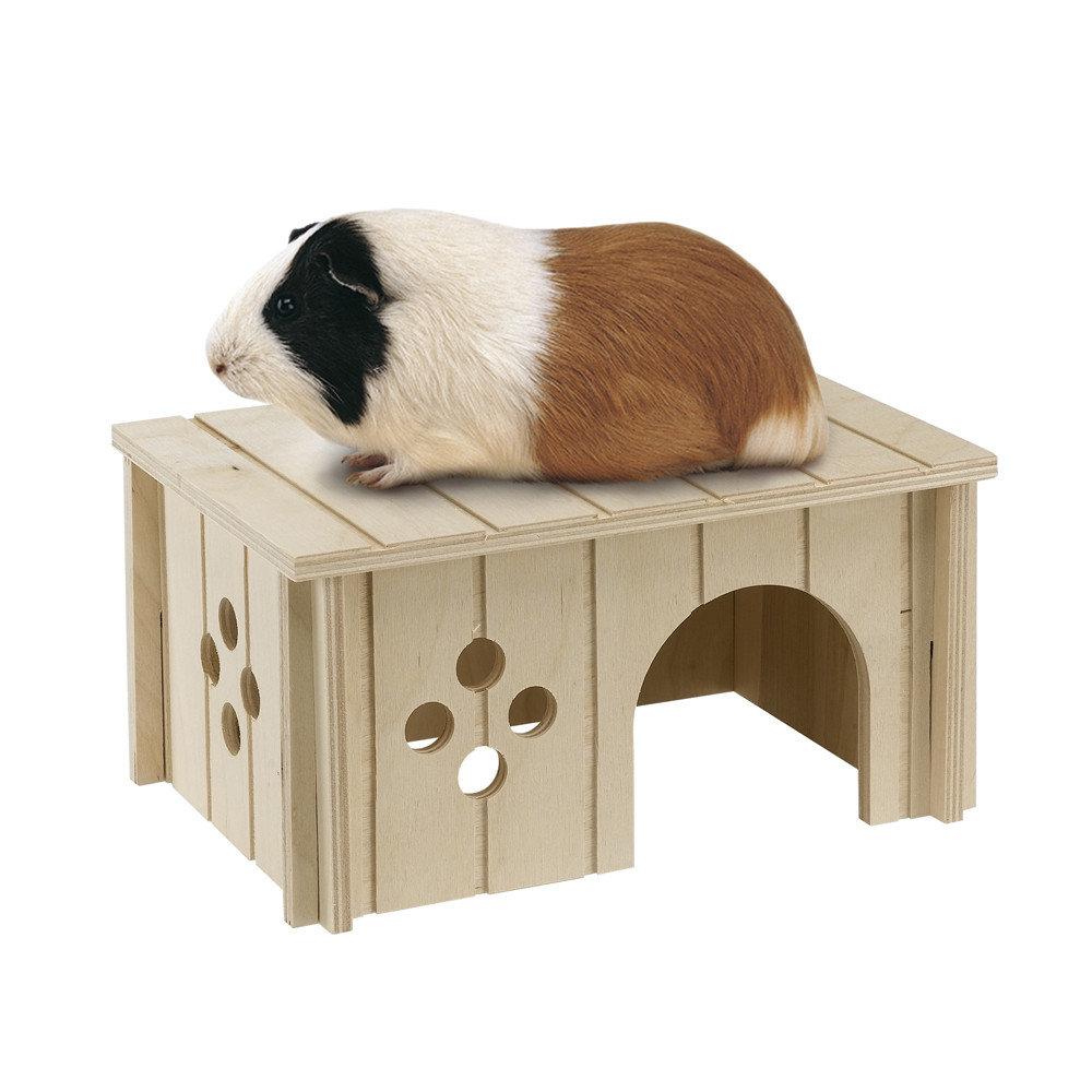 Ferplast Дом для морской свинки SIN 4645 деревянный