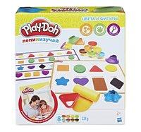 Набор для лепки из пластилина Play-Doh Цвета и формы