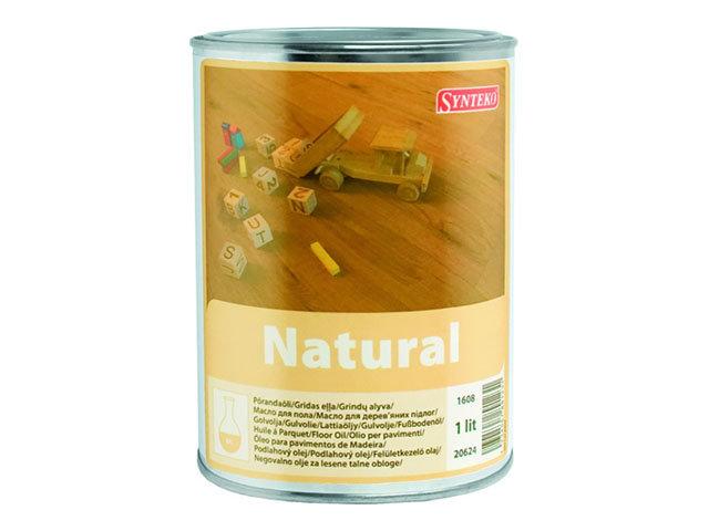 масло дляпола Synteko Natural 1 л