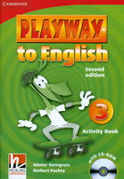 "Gunter Gerngross, Herbert Puchta ""Playway to English 3 Activity Book (+ CD-ROM)"""