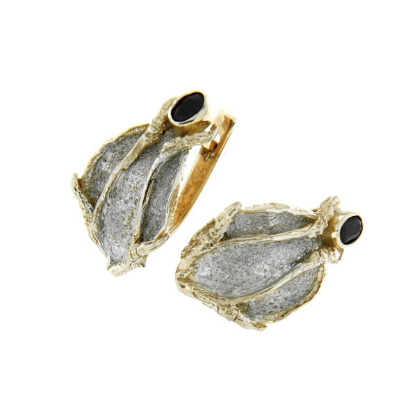 Серебряные серьги Beavers 2106s
