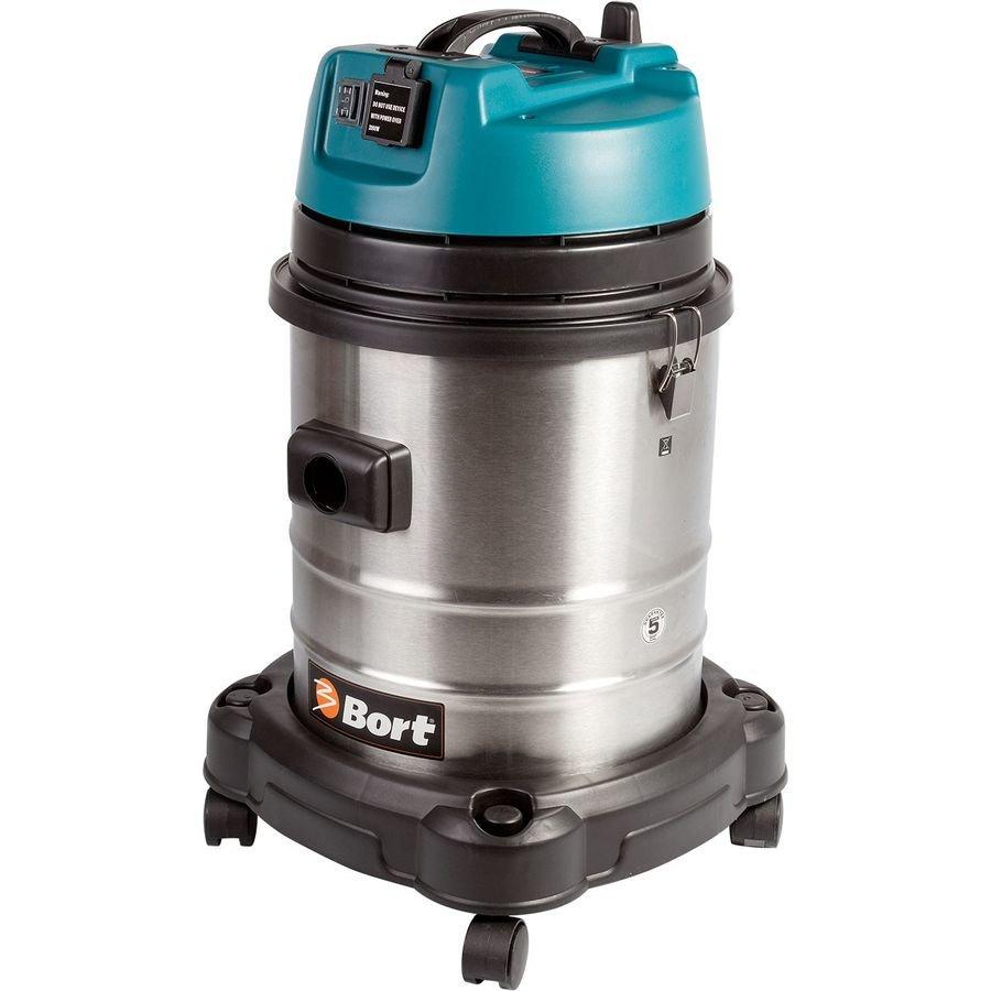 Строительный пылесос BORT BSS-1440-Pro серый [98297089]