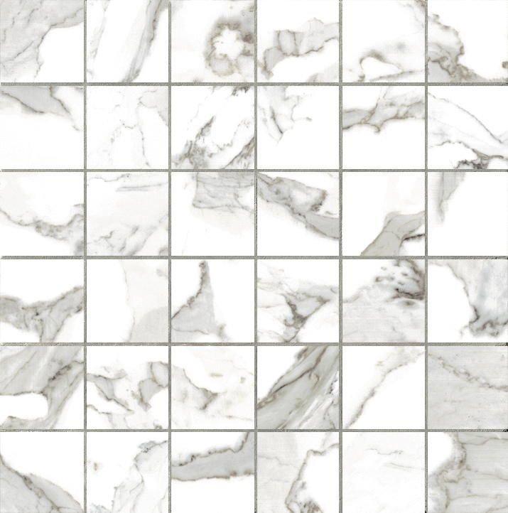 Мозаика Vallelunga Calacatta Mosaico 5х5 Lapp. 30x30