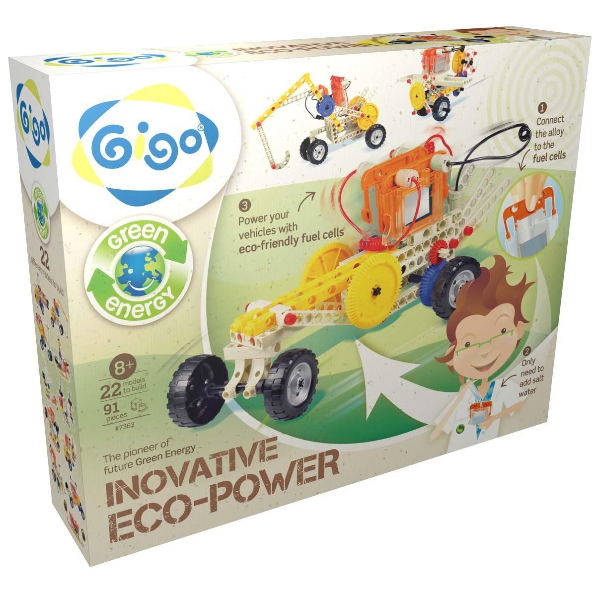 Конструктор Green Energy - Энергия соли, 91 деталь Gigo
