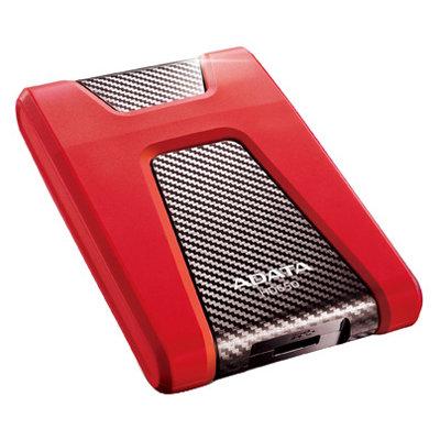 Внешний жесткий диск ADATA HD650 HDD USB3.0 1TB DashDrive Red (AHD650-1TU3-CRD)