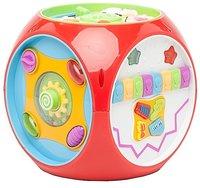 Интерактивная развивающая игрушка Kiddieland Мультикуб