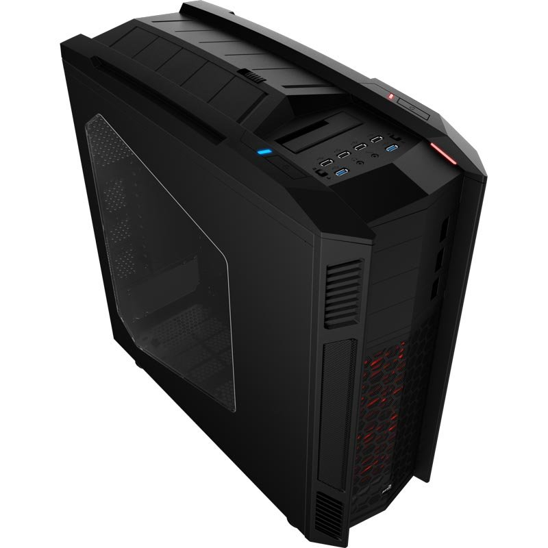 "Корпус для ПК Aerocool - XPREDATOR II, (mITX/mATX/ATX/E-ATX/XL-ATX), 8х3.5""int, 3х5.25"", 4xUSB2.0, 2xUSB3.0, Full Tower, без БП, цвет Чёрный, XPREDATOR II BLACK"