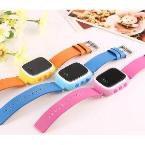 Детские умные часы (смарт-часы) Smart Baby Watch Q60 с GPS трекером ( без датчика)