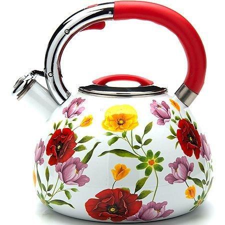 Чайник эмалированный 3,5 л со свистком Mayer & Boch 23853