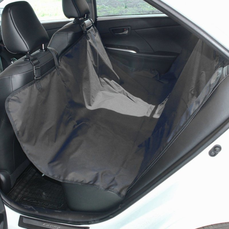 Чехол-накидка на заднее сиденье TPLUS Tplus, черный