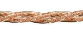 Ретро кабель (50м) 3*2.5 прозрачный, ПУП Подольсккабель