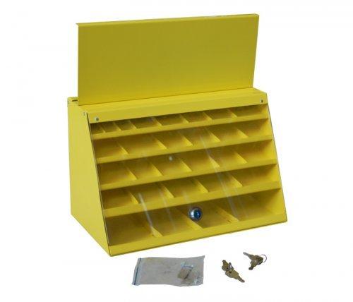Шкаф для сверл 29 ячеек (две дверцы) Энкор 22562