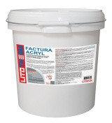 Декоративная акриловая штукатурка Litokol (литокол) LITOTHERM Acryl LITOTHERM Factura Acryl, 2.5 мм, Пастельные тона