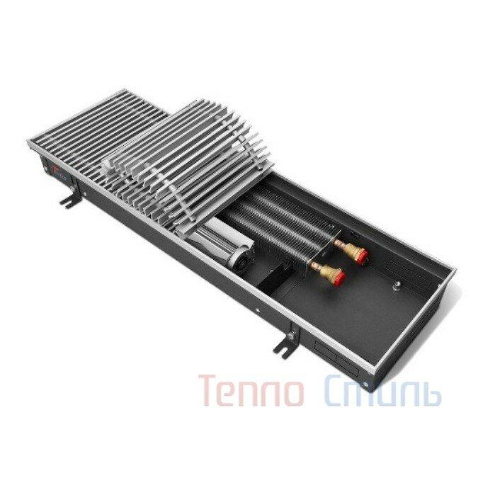 Внутрипольный конвектор Techno серия Vent KVZV 350/85/2100 с принудительной конвекци