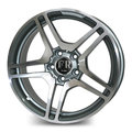Диск FR REPLICA MR87 7.5x16/5x112 D66.6 ET35 M/GRA для Mercedes C, E, S-class - фото 1