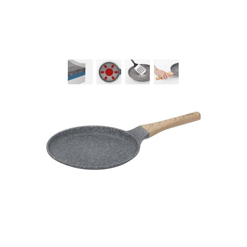 """Сковорода блинная с антипригарным покрытием """"Mineralica"""", 24 см"""