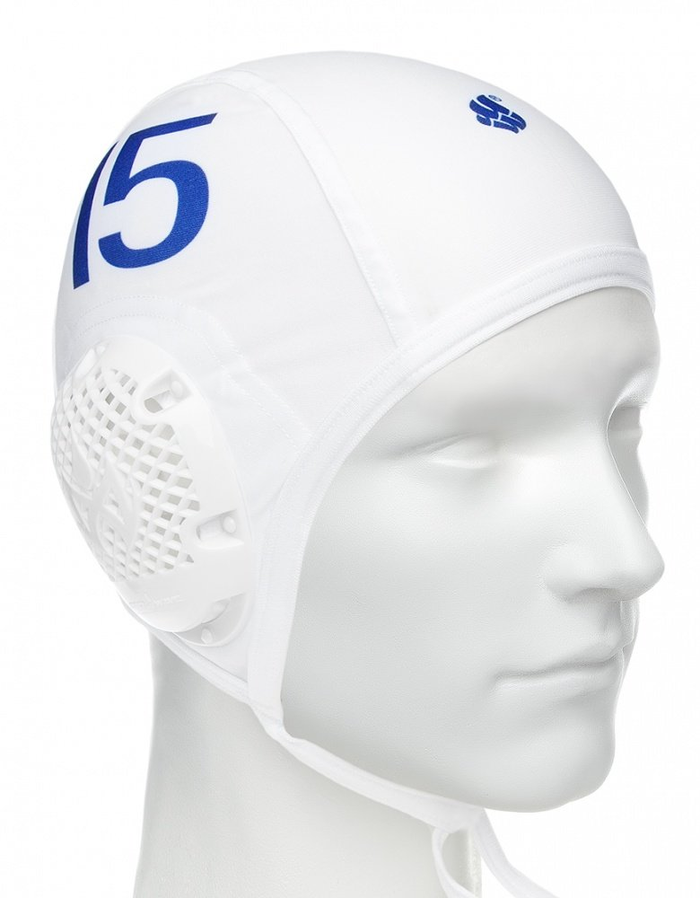 Шапочка для водного поло MadWave WATERPOLO, White (-5)