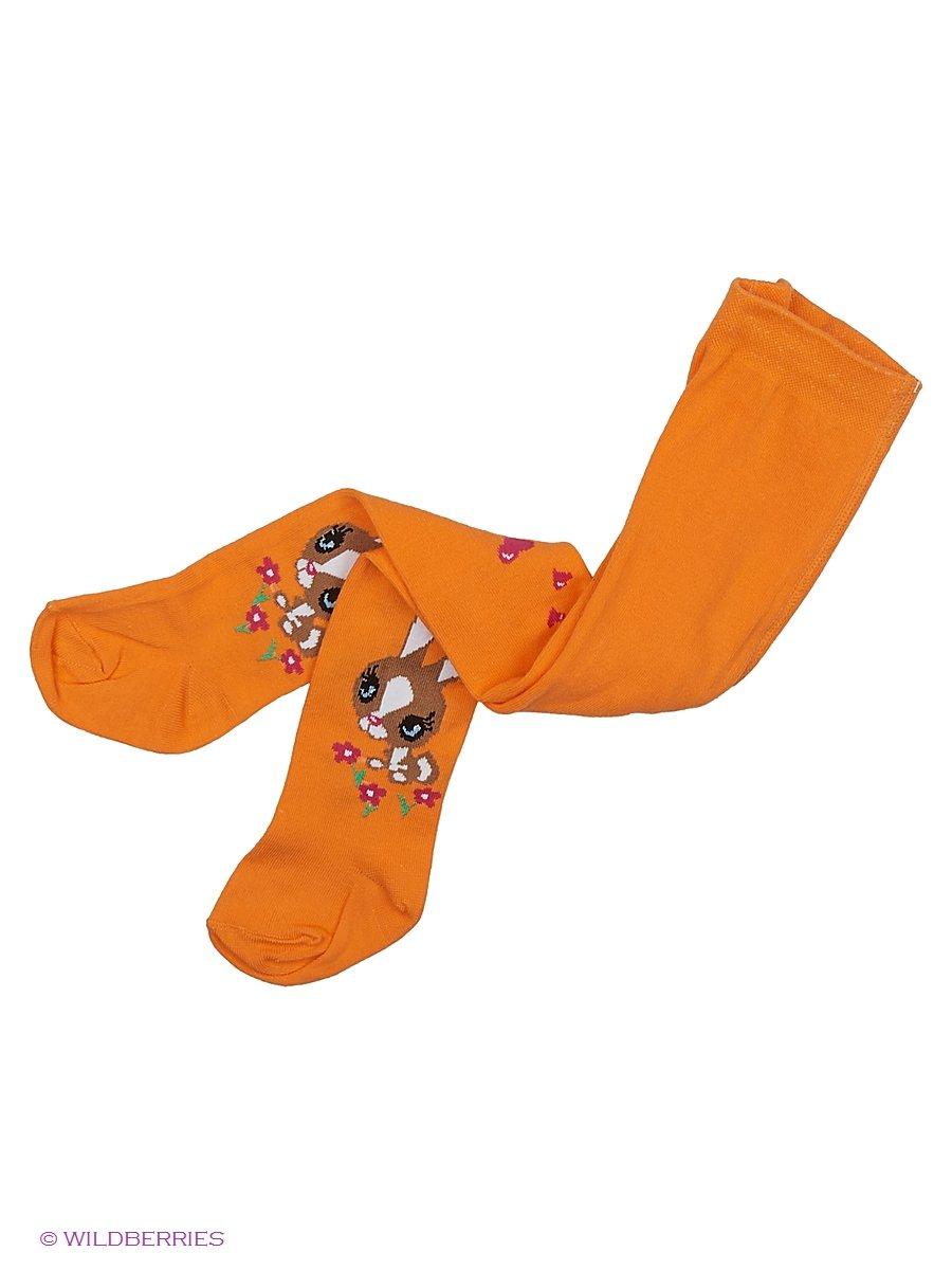 Колготки Хох dk-1504/оранжевый