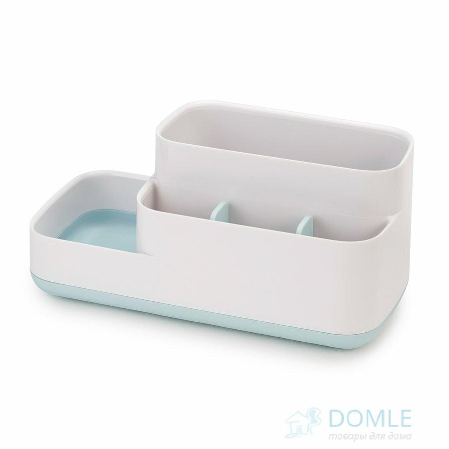 Органайзер-подставка для принадлежностей ванной комнате EasyStore™ белый