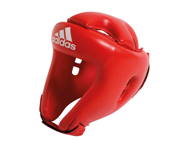 Шлем боксерский Competition Head Guard, красный Adidas