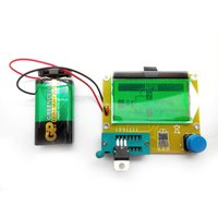 DIY-лаборатория Мастер-кит MP700. Тестер параметров и исправности электронных компонентов (R/L/C, N/P/M, ESR)
