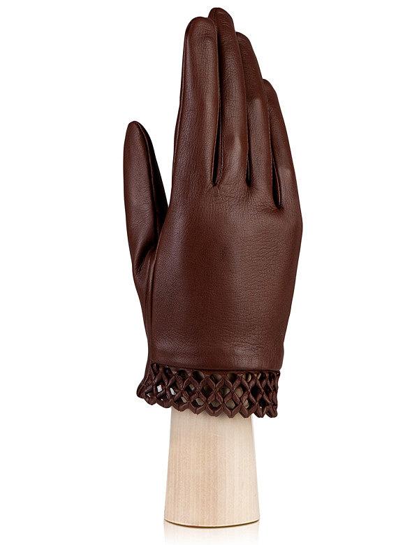 Женские перчатки с плетеной манжетой ELEGANZZA (Размер: 7)