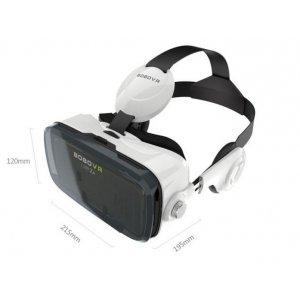 Шлем Виртуальной Реальности/ 3D- очки/ VR- шлем BOBOVR Z4 Virtual Reality 3D Glasses со встроенными стерео-наушниками для телефонов 4.7