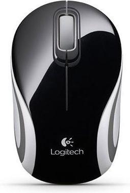 Мышь Logitech Wireless Mini Mouse M187 Black-White USB