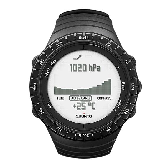 Спортивные часы (пульсометр) Suunto Core Regular Black