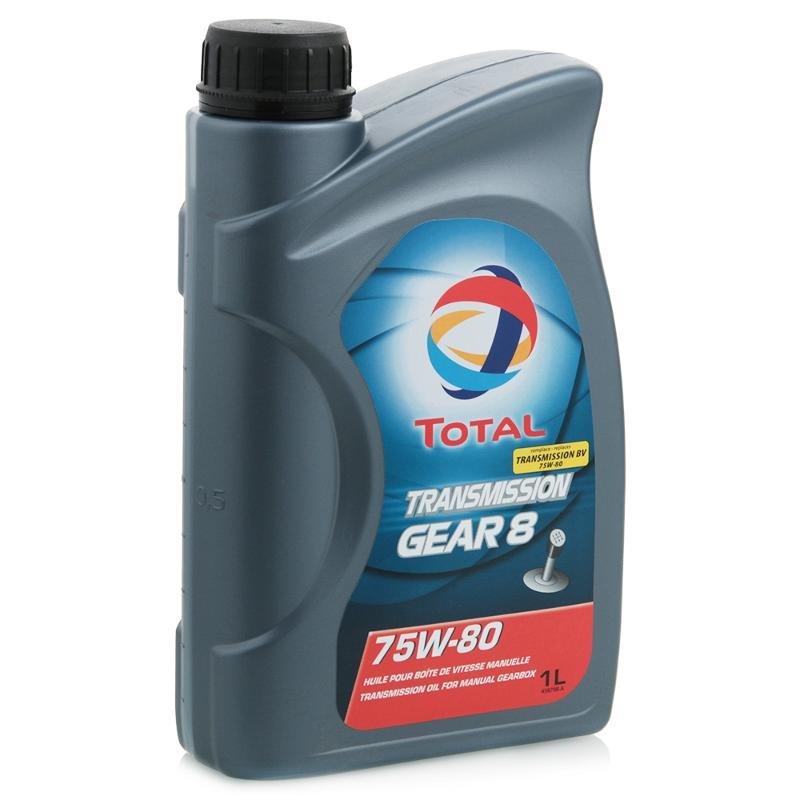 Трансмиссионное масло Total Trans Gear 8 75W-80, 1л