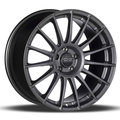 Диски OZ Racing SuperTurismo LM 7.5x17 5x112 ET35 ЦО75.0 цвет MATT RACE SILVER BLACK LETTERING - фото 1