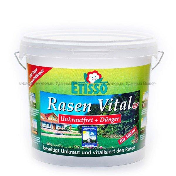 Удобрение от сорняков Etisso 3 кг для газона