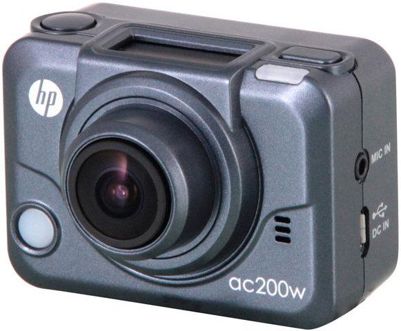 Экшн-камера HP ac200w (серый)