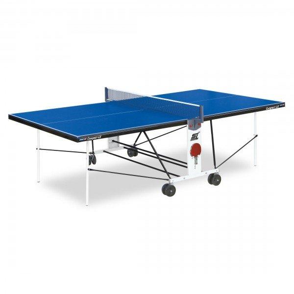 Теннисный стол для помещений START LINE COMPACT LX С СЕТКОЙ