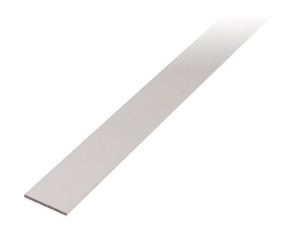 полоса алюм. анодир. 30x2х2600мм серебро