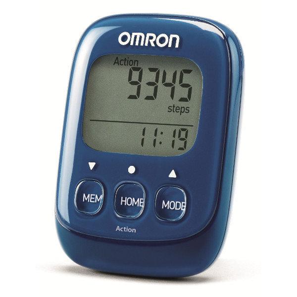 Шагомер Omron Walking Style IV (HJ-325-EB, синий)