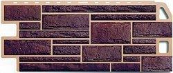 Фасадная панель (цокольный сайдинг) Альта-Профиль Камень Жженый