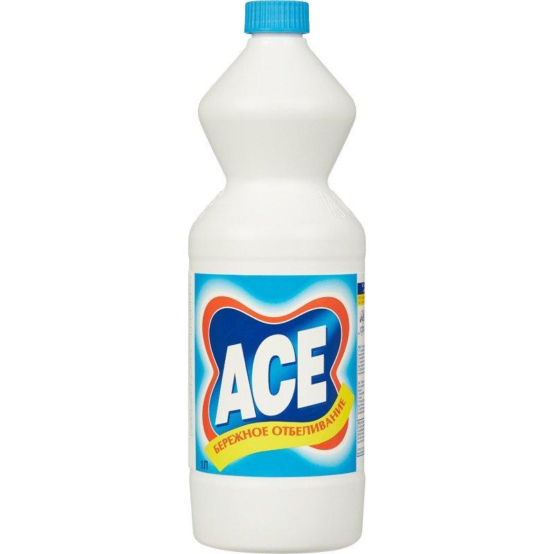 Отбеливатель-дезинфектант Ace 1 л (отдушки в ассортименте)