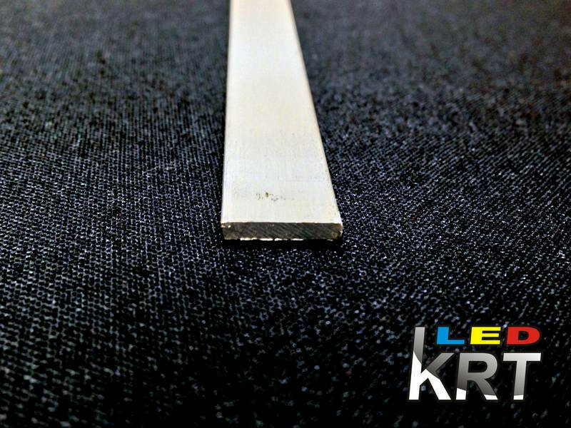 Полоса алюминиевая, ширина 12мм, толщина 2мм