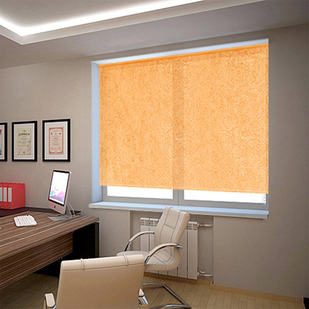 Штора рулонная 7654 100*175см Фрост оранж