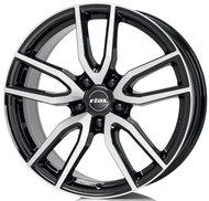 Колесные литые диски Rial Torino Black 7.5x17 5x114.3 ET40 D70.1 Чёрный глянцевый с полированной лицевой частью (TOR75740B83-1) - фото 1
