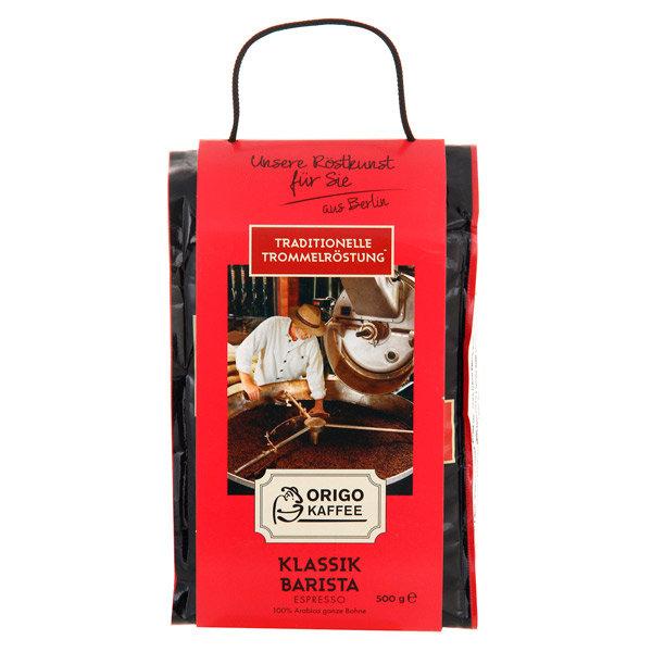 Кофе в зернах ORIGO Kaffee Klassik Barista Espresso 500g