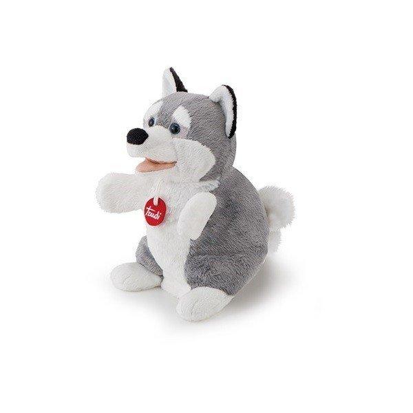 Собака лайка мягкая игрушка