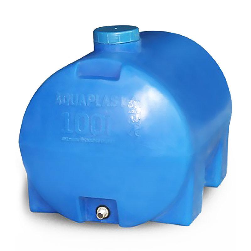 Бак Aquaplast 100л (овально-горизонтальный)