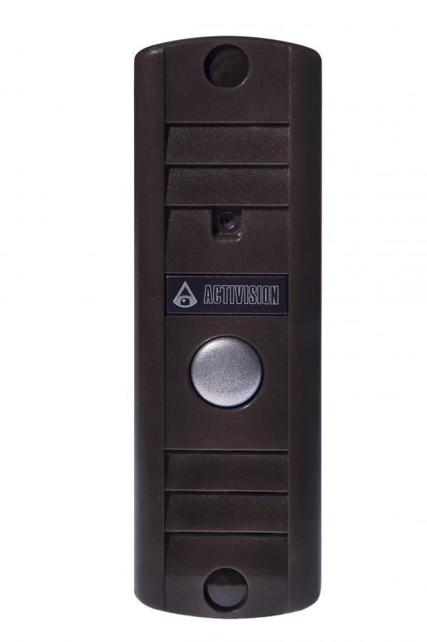 Видеопанель FALCON EYE AVP-506, цветная, накладная, коричневый