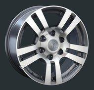 Диски Replay Replica Toyota TY61 7.5x17 6x139,7 ET25 ЦО106.1 цвет GMF - фото 1